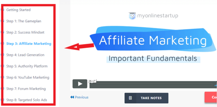 online-startup-review-really-earn-program-fundamentals