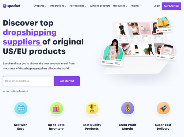 spocket dropshipping review website